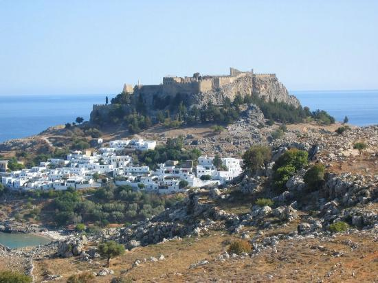 Ixia, Grekland: Lindos