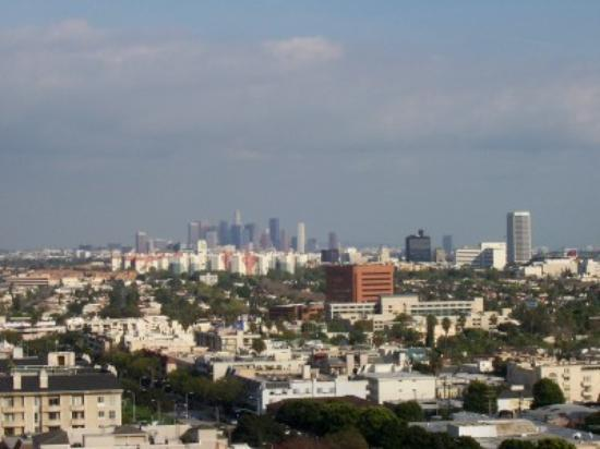 Los Angeles View From Four Seasons Balcony Picture Of Four Seasons Hotel Lo