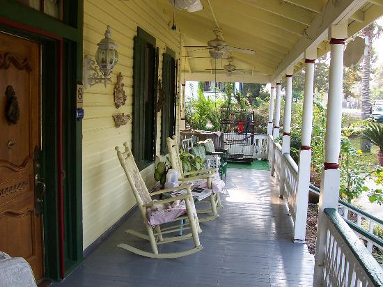 Bryant House Bed & Breakfast: on the porch
