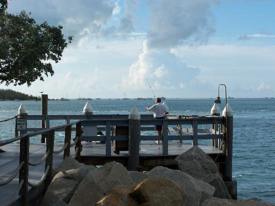 Fishing pier picture of galleon resort and marina key for Fishing resorts in florida