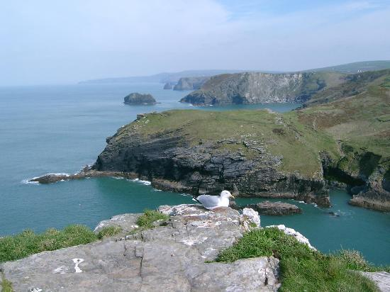 Tintagel, UK: Breathtaking Cliffs - What King Arthur could have looked over (if he existed)
