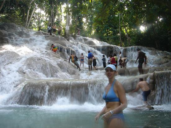 Dunns River Falls Tour. My trip ----, but the falls