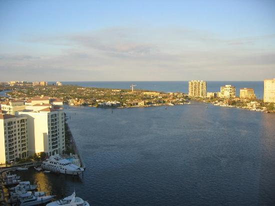 Boca Raton, Floride : View from room