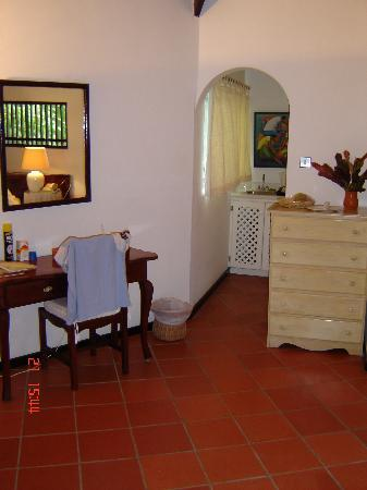 Inside one of the rooms at East Winds Inn, Gros Islet