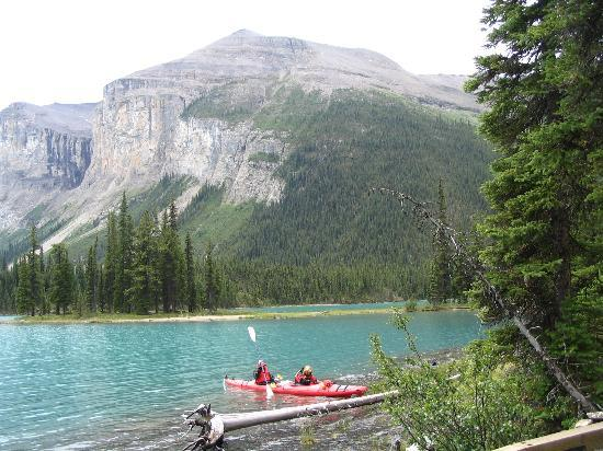 Jasper nationalpark, Kanada: Maligne Lake