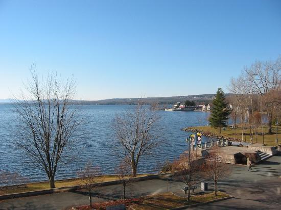 Magog, Kanada: view from the room