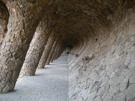 Barcellona, Spagna: Park Guell