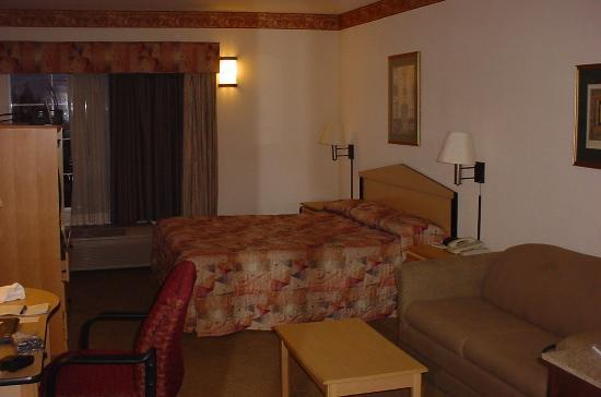 Comfort Inn & Suites: suite room