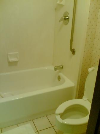 Fairfield Inn Palm Desert: tub