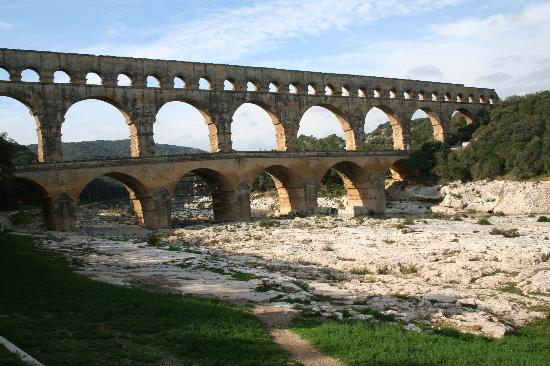 Pont du Gard - Roman Aqqueduct in Provence