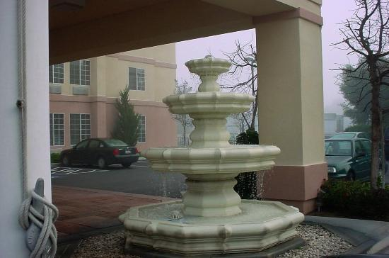 decorative fountain outside picture of ramada northwest. Black Bedroom Furniture Sets. Home Design Ideas