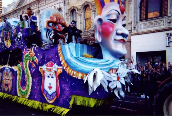 New Orleans, LA: mardi gras parade