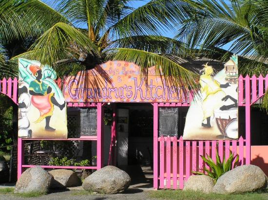 les Vierges britanniques : Grandma&#39;s Kitchen, Virgin Gorda 