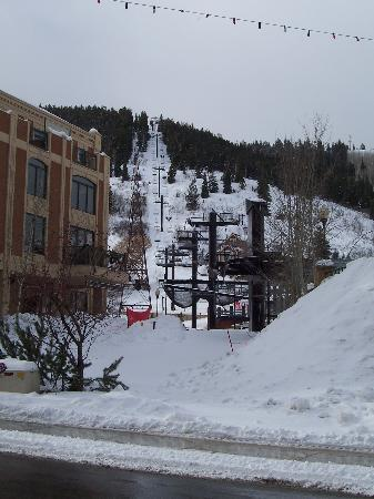 Park Station Resort Condominium: From Main Street Looking at the Town Lift