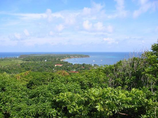 Little Corn Island, Nicaragua: Panorama of Little Corn