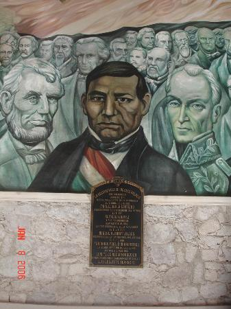 Benito juarez mural at government palace for Benito juarez mural