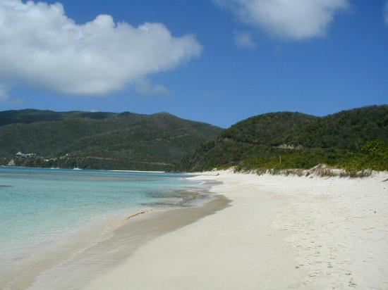 les Vierges britanniques : Savannah Bay, Virgin Gorda 