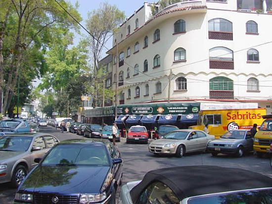 Polanco Apartments And Neighborhood Shopping Picture Of