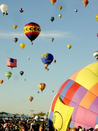 Albuquerque, New Mexiko: ABQ Balloon festival