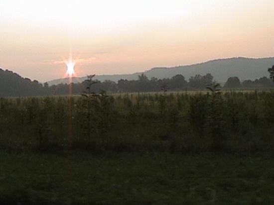 Old Smoky Mountain Cabins: Cades Cove Sunset