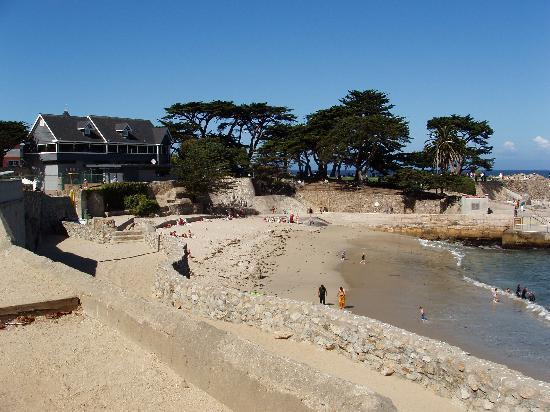 Pacific Grove, Kalifornia: Lovers Point Beach