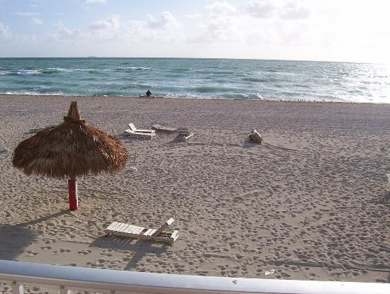 North Miami Beach, Floride : A view from the balcony 