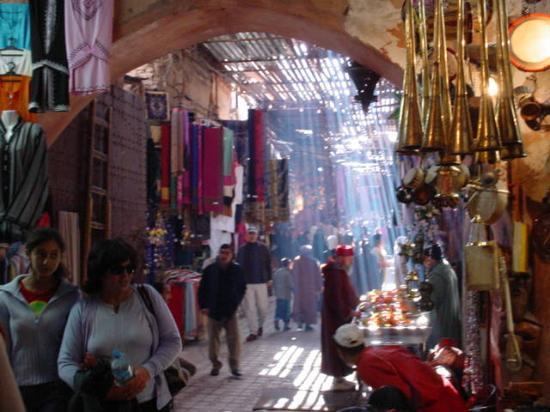 Riad Amssaffah: The amazing Souk