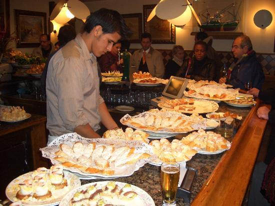 Eating pintxos - Review of San Sebastian - Donostia, Spain ...