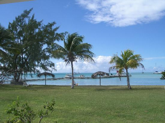 Anegada: View from our room, to the left