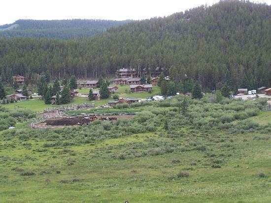 Paradise Guest Ranch: A birdseye view of the ranch