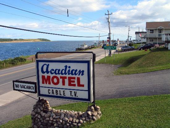Acadian Motel on the Cheticamp highway