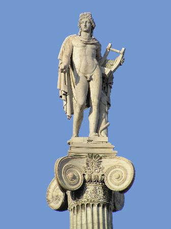 Apollo Greek God Statue