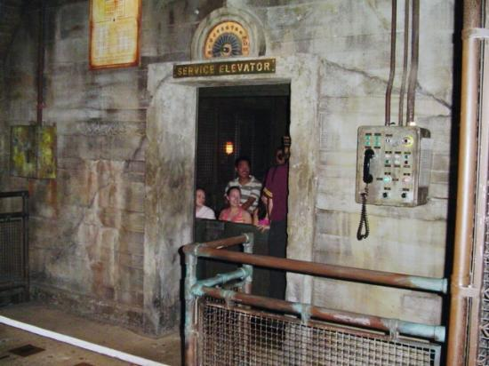 Tower Of Terror Elevator Picture Of Disney S Hollywood