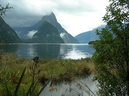 Te Anau, New Zealand: Mitre's Peak in Milford Sound