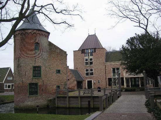 Noord-Holland, Nederlnderna: castle_centre