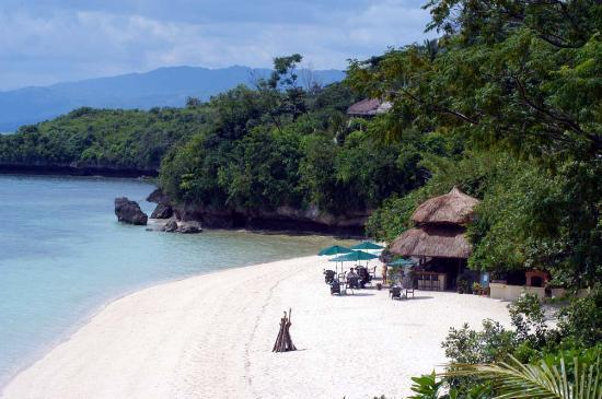 Cebu, Philippines: beach and beach BBQ - Bar