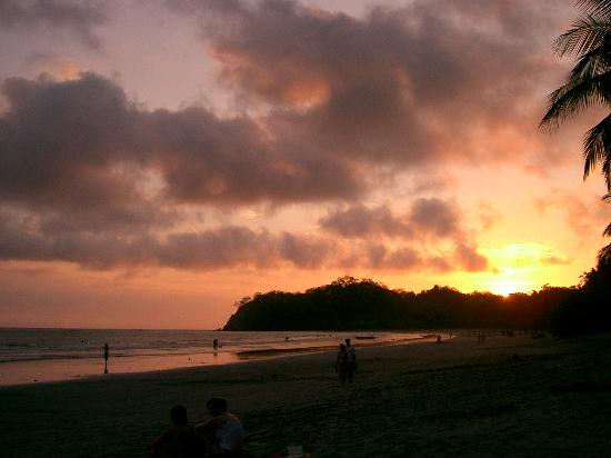 Casa Valeria: Sunset, Playa Samara
