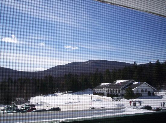 Inn at the Mountain: the view from an Inn Room on the lower level