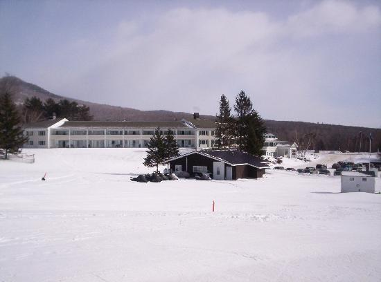 Inn at the Mountain: the Inn from the Toll House chair lift (very convenient)