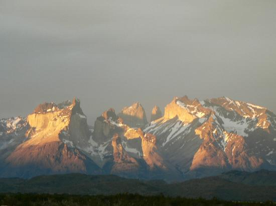 Torres del Paine, Cile: Sunset