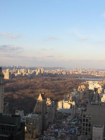 Four Seasons Hotel New York: View from suite
