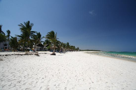 Diani Beach, Kenya: Beach