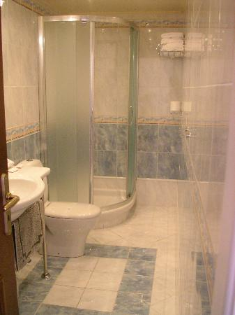 AVA Hotel Athens: entering the bathroom
