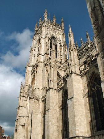 York, UK: A majestic view of the Minster