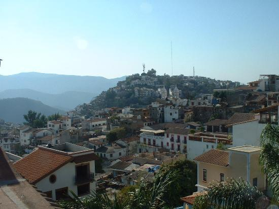 View of Taxco from near the hotel