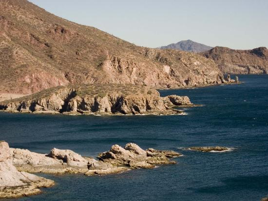 San Carlos, Mexico: View from the mirador, (lookout).