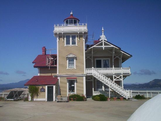 Photo of East Brother Light Station Point Richmond
