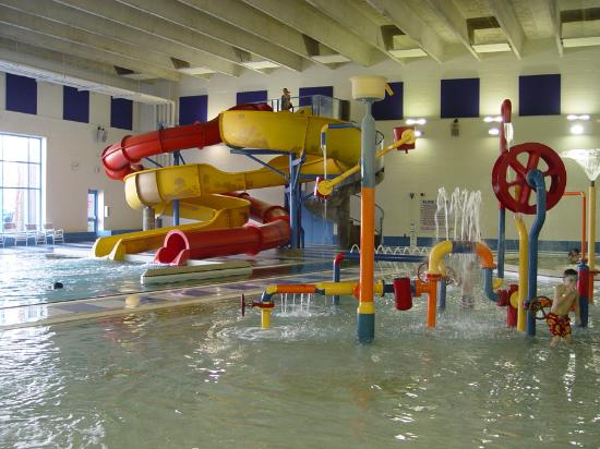 Battle Creek, Мичиган: Indoor waterpark and waterslides