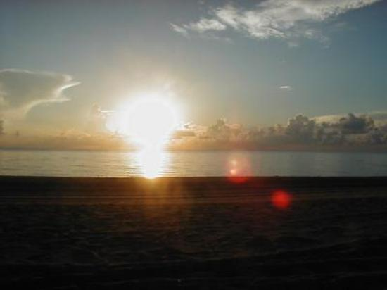 Miami Beach, FL: Sunrise At Haulover In Septemberj