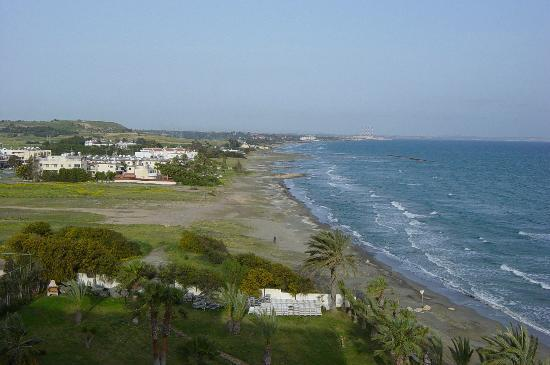 Larnaca, Cyprus: Sea view from 5th floor.